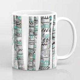 Turquoise Stag Coffee Mug