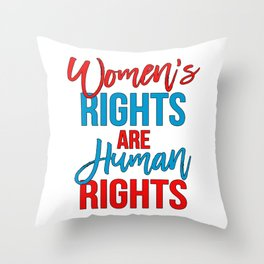 Women s rights are human rights Red Blue c0d9972d40