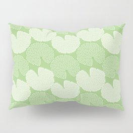 Garden Geranium Foliage Pattern Pillow Sham