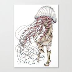 Shroom me up, Jelly Canvas Print