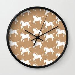Run Free II Wall Clock