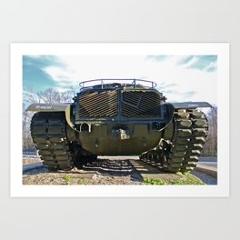 Tanker FOUR Art Print
