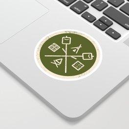 S'mores Society Sticker
