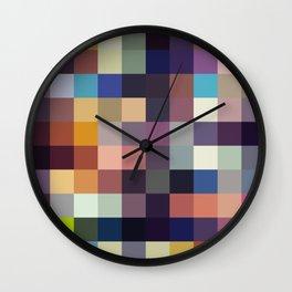 Kekkai - Colorful Decorative Abstract Art Pattern Wall Clock