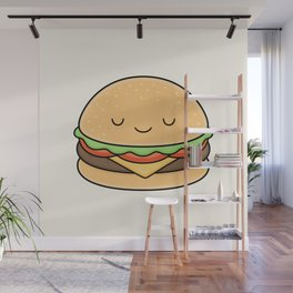 Happy Burger Wall Mural