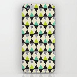 Geometric Pattern #48 (Mid-century) iPhone Skin