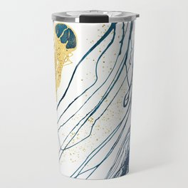 Metallic Jellyfish II Travel Mug