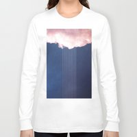 rain Long Sleeve T-shirts featuring Rain by SUBLIMENATION