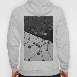 Watercolor Abstract (Black and White) Hoody