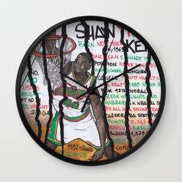 NBA PLAYERS - Shawn Kemp Wall Clock