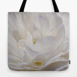 Simply White & Beautiful Flower by Aloha Kea Photography Tote Bag