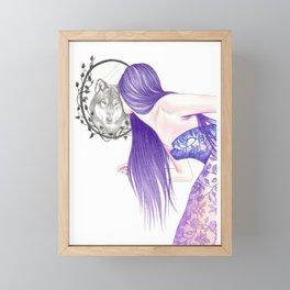 Mirror Framed Mini Art Print