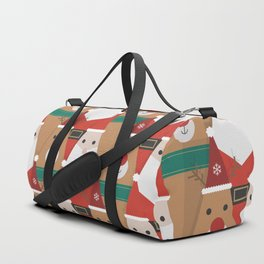 Christmas is Coming (Patterns Please) Duffle Bag