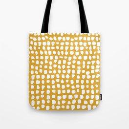 Dots / Mustard Tote Bag