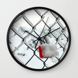 Fenced Love Wall Clock