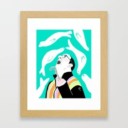 Loose Seal Framed Art Print