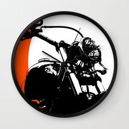 """Motorcycle wheel"" - Classic Car Lovers Wall Clock"