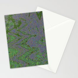 GORIAN MOSS GROWING ON FALIS THREE ON A CLOUDY DAY Stationery Cards