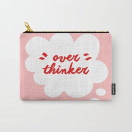 Overthinking in Pink Carry-All Pouch