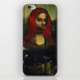 Red Mona  iPhone Skin