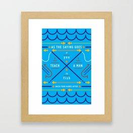 Haikuglyphics - Ernest Framed Art Print