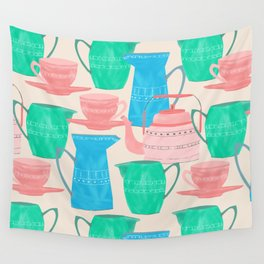 Jugs and Cups Pattern Wall Tapestry