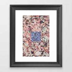 Inner Molecules Framed Art Print
