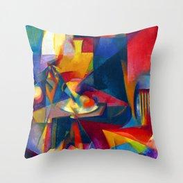 Stanton Macdonald Wright Synchromy III Throw Pillow
