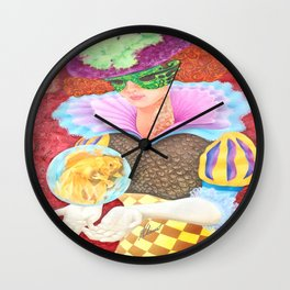 Pez Hembra, Alex Chinea Pena Wall Clock