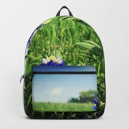 Texas Bluebonnet Flowers Backpack