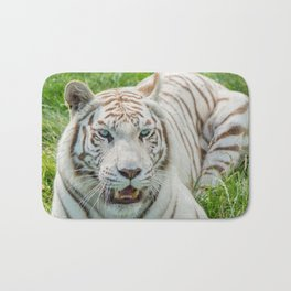 THE BEAUTY OF WHITE TIGERS Bath Mat