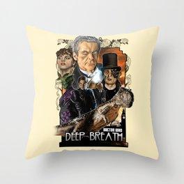 Doctor Who: Deep Breath Throw Pillow