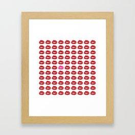 Kiss Print Framed Art Print