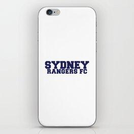 College - Blue iPhone Skin