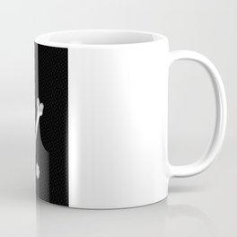 Silver Wolf Geometric Coffee Mug