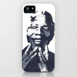 Nelson 'Madiba' Mandela iPhone Case