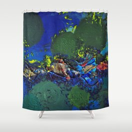 .surfacing {1 of 3}. Shower Curtain