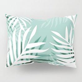 Tropical bliss - jungle green Pillow Sham