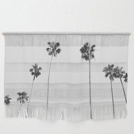 Black & White Palms Wall Hanging