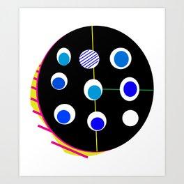 Diaonl Art Print