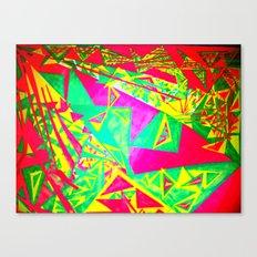 3 Triangulating Canvas Print