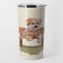 Cuddly At The Park Travel Mug