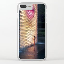 Lit From Within Clear iPhone Case