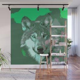 Wolf 049 Wall Mural