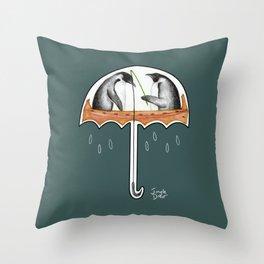 That's not an umbrella Throw Pillow