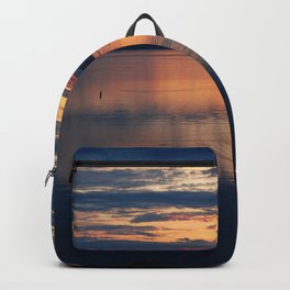 Campobello Island, Bay of Fundy Sunset Backpack