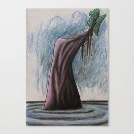 No. 31, Unbalanced Island Canvas Print