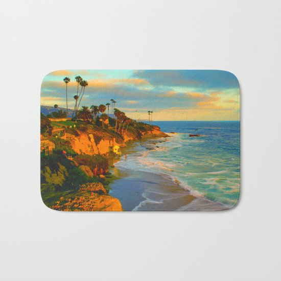 Laguna Beach California Bath Mat