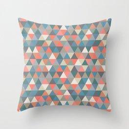 Libertad Color Pattern Throw Pillow