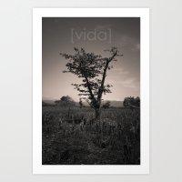[vida] Art Print